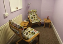 a therapy room