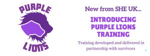 Purple Lions Training in partnership with survivors